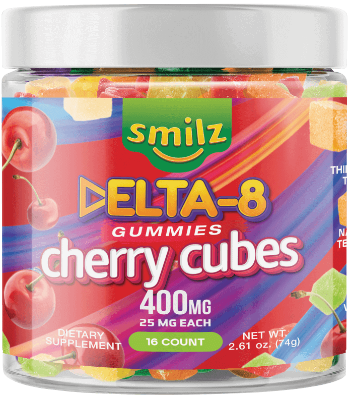 Smilz Delta8 THC Gummies - Cherry